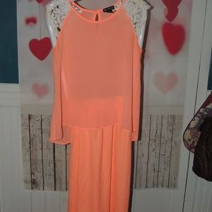 peachy color Living Doll Miss Chievous skirt top